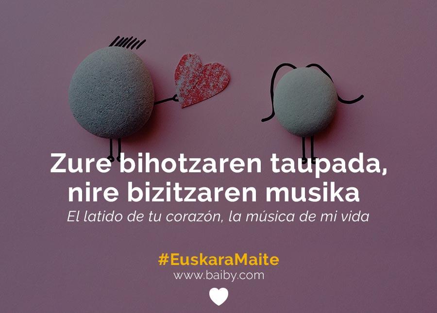 Frases De Amor En Euskera Y Canciones Romanticas Aprende Euskera