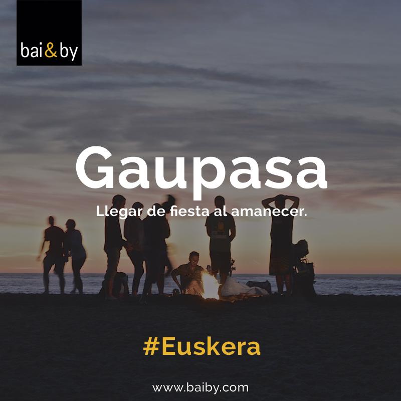 Palabras bonitas en euskera