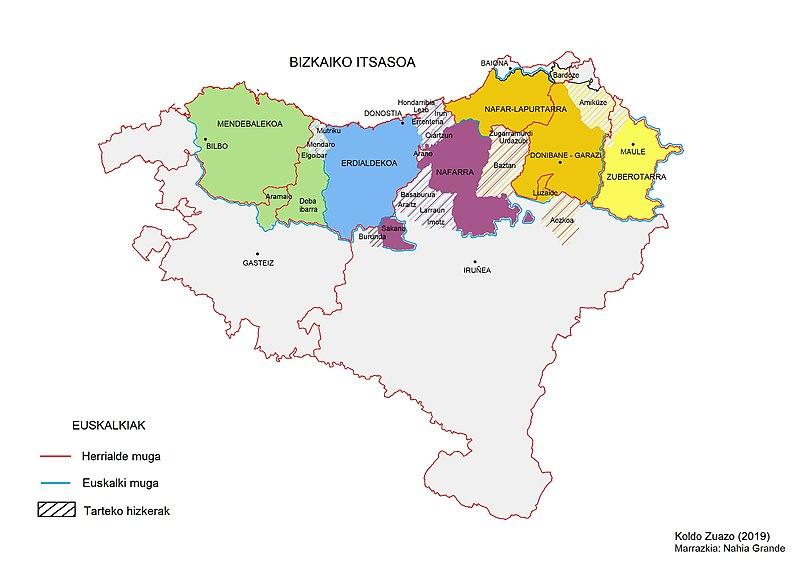 Qué son los Euskalkis o dialectos del Euskera